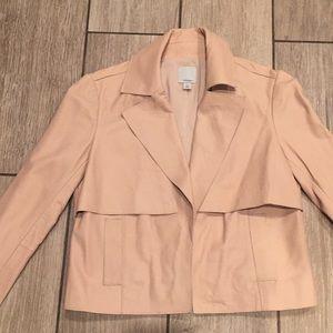 HALOGEN Leather Jacket Size S